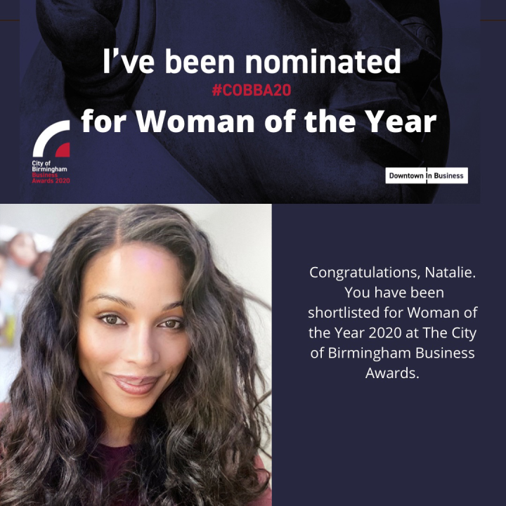 Natalie Edwards nominated for Woman of the Year